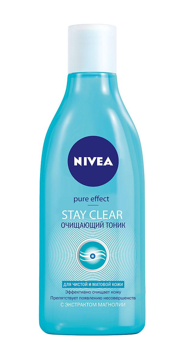 "Очищающий тоник Nivea Visage Young ""Stay Clear"", 200 мл ( 10023215 )"
