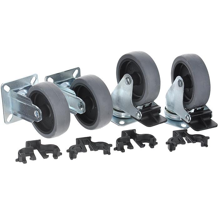 Набор колес для клипперов Marchioro Velox 4-7, 4 шт1064004700905Набор колес для клипперов Marchioro Velox 4-7 предназначен для переносок моделей Clipper размера 4, 5, 6 и 7. Быстро устанавливаются без дополнительного инструмента. 2 колеса имеют фиксирующий тормоз. Колеса вращаются вокруг своей оси. После установки передвигать клиппер, особенно с крупными собаками, станет намного легче. Комплектация: 4 шт. Диаметр колеса: 7,5 см.