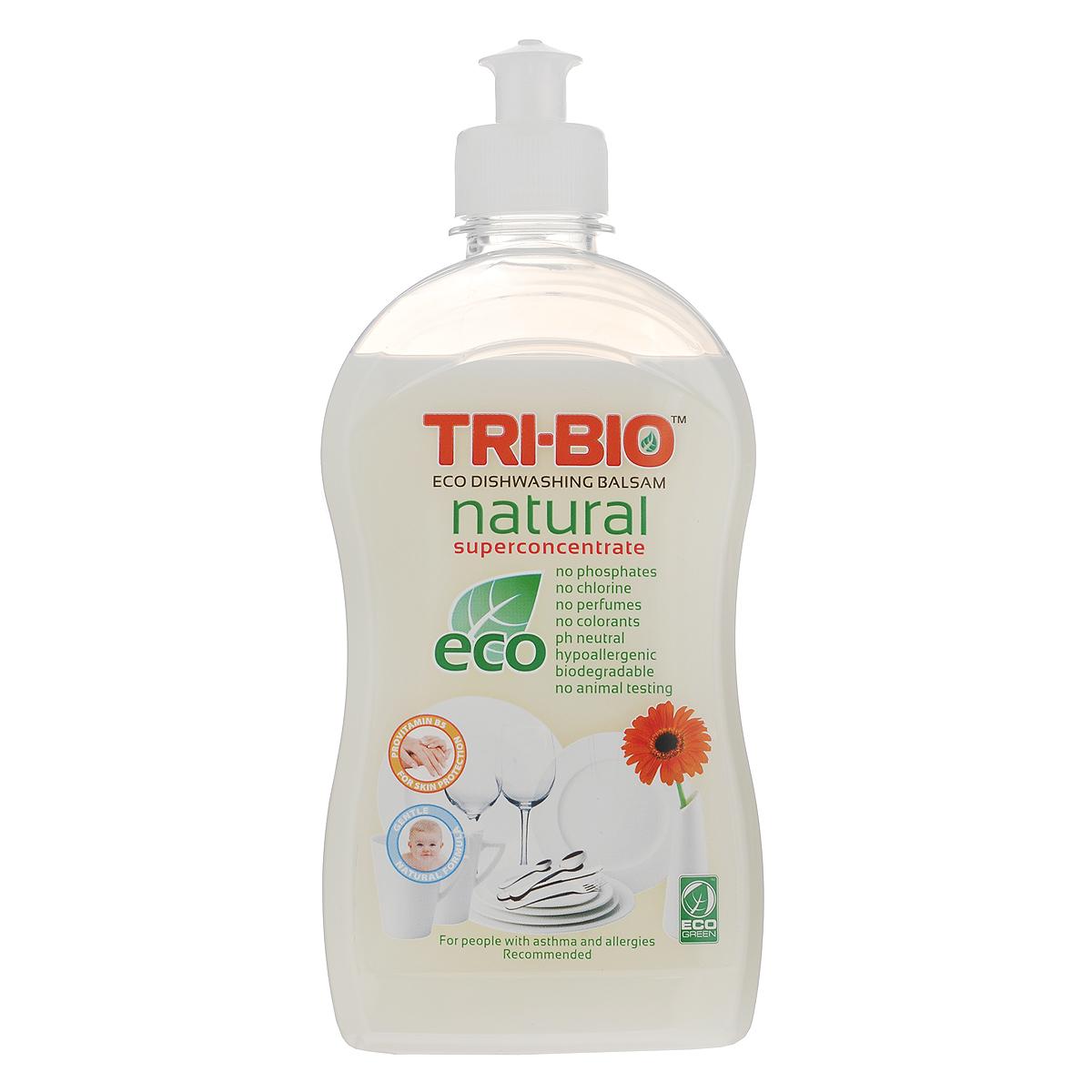 Натуральный эко-бальзам для мытья посуды Tri-Bio, 420 мл0420Эффективная формула основана на натуральных растительных и минеральных компонентах, кокосовом масле, сахаре, а также провитамине В5 для смягчения кожи. Нейтральный рH. Супер концентрированный густой белый бальзам создает нежную пену, которая эффективно удаляет жир и остатки пищи с посуды и стеклянных, керамических, каменных и металлических поверхностей. Не содержит опасных химических веществ, но также эффективна, как широко известные жесткие химические моющие средства. Подходит людям с чувствительной кожей: оказывает более щадящее воздействие на руки, не сушит кожу, не повреждает ногти, не раздражает дыхательные пути. Идеально подходит для мытья детской посуды. Рекомендуется для людей, склонных к аллергическим реакциям и страдающих астмой. Для здоровья: Без фосфатов, растворителей, хлора отбеливающих веществ, абразивных веществ, отдушек, красителей, токсичных веществ. Для окружающей среды: Низкий уровень ЛОС, легко...