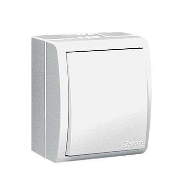 Выключатель Simon 1594101 301594101-030Simon 15 Aqua — влагозащитная коллекция выключателей от испанской электротехнической компании Simon. Надежная защита от пыли и влаги! Все выключатели, объединенные в серии «Simon 15 Aqua», имеют эксплуатационную степень защиты IP54. Они спроектированы для использования в помещениях с повышенной влажностью (ванные комнаты, бассейны, парники) или загрязненностью воздуха (цеха заводов, гаражи, мастерские), а так же для применения на улице. Механизмы выполнены из поликарбоната, латуни и нержавеющей стали. Маленькие габариты изделий.