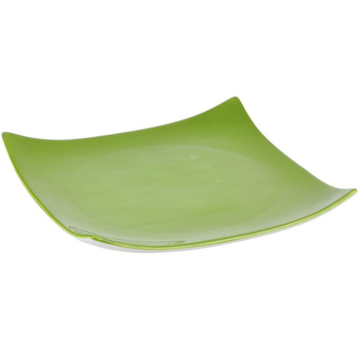 Тарелка Infinity Божья коровка, 26 см х 26 смINFEX-8152-L-ALТарелка Infinity, изготовленная из высококачественной доломитовой керамики, выполнена в форме квадрата с задранными вверх углами. Такая тарелка непременно украсит ваш стол и послужит прекрасным дополнением к сервировке. Изделие можно использовать в микроволновой печи и мыть в посудомоечной машине.