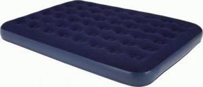 Кровать надувная RELAX KING, 203 x 183 x 22 смJL020256-5N цвет синийНадувная кровать AIR BED KING. - Размер кровати: 203 х 183 х 22 см. - Высота 22 см. - Время надувания 1 минута в зависимости от используемого насоса. - Прочный запирающий клапан. - Водостойкое велюровое покрытие не позволяет белью соскальзывать. - Самоклеящаяся заплатка в комплекте. Комфорт и компактность делают надувные кровати RELAX отличным выбором для путешествия, кемпинга и домашнего использования. Для использования кровати рекомендуется приобрести электрический или двух-ходовой насос.