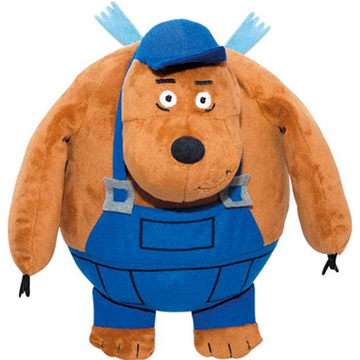 Мягкая игрушка Летающие звери Медведь Тэд, цвет: коричневый, 25 смLMD0Мягкая игрушка Летающие звери Медведь Тэд, выполненная в виде персонажа мультфильма «Летающие Звери» вызовет умиление и улыбку у каждого, кто ее увидит. Всю жизнь медведь Тэд прожил в лесах Канады, столярничал, занимался плотницким делом. Он просто относится к жизни. Его самая большая любовь - это природа. Тэд за ухом носит карандаш, в кармане всегда болтается рулетка, при любом удобном случае он набросает чертеж или сделает расчеты. На него можно положиться и именно он в случае чего может вывести всех из какой-нибудь передряги. Он спокойный, уравновешенный и очень сильный. Летающие звери - это уникальный благотворительный медиа-проект, прибыль которого идет на лечение детей, больных онкологическими заболеваниями. В основе бренда лежит детский анимационный сериал Летающие звери. Идея сериала- воодушевить взрослых и маленьких зрителей не бояться быть счастливыми, верить в самих себя и свои возможности, смело менять жизнь к лучшему. Покупая мягкие...