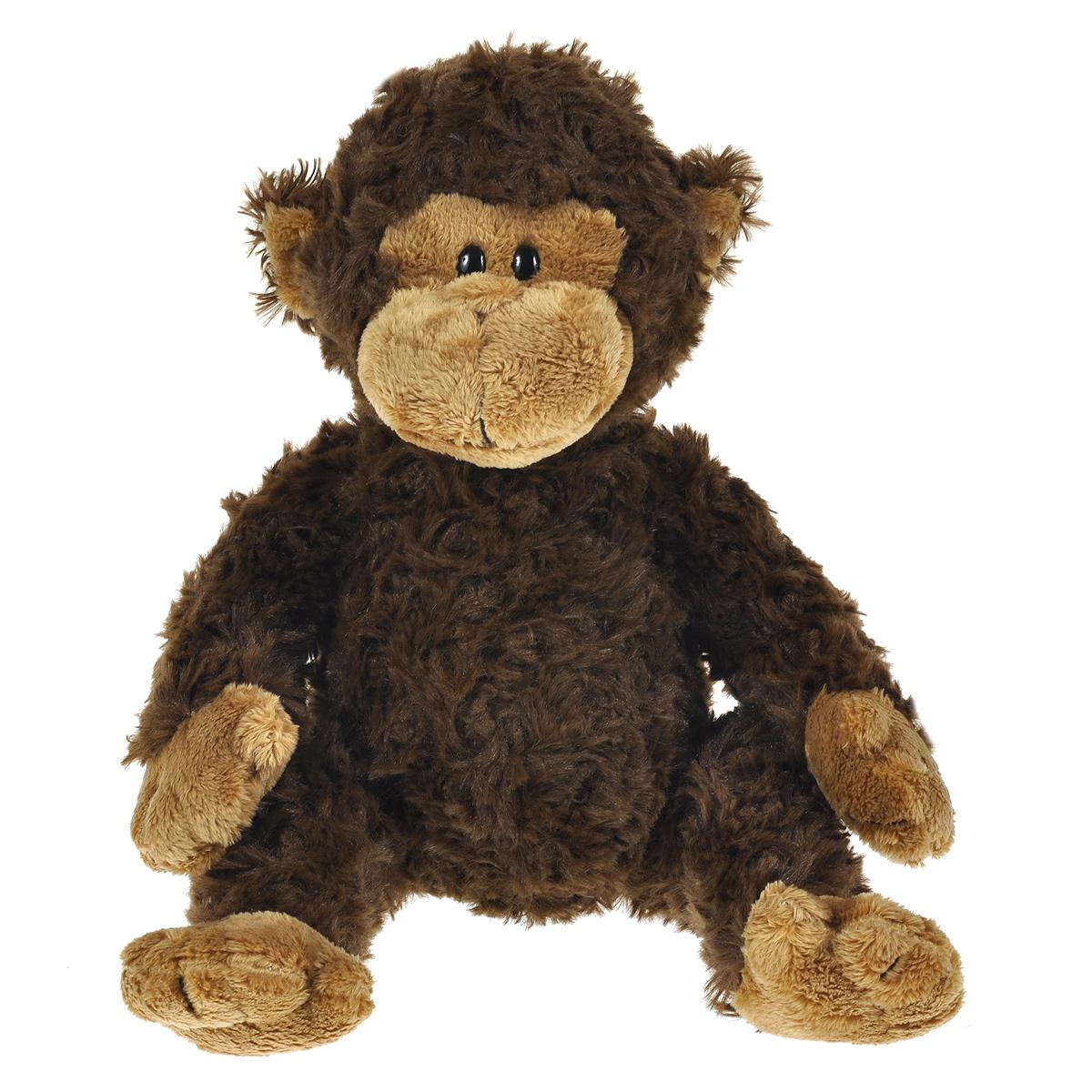 Мягкая игрушка The Classic Обезьянка Bungle, цвет: темно-коричневый, 24 см70028Очаровательная мягкая игрушка The Classic Обезьянка Bungle, выполненная в виде темно-коричневой обезьянки с добрыми глазками, вызовет умиление и улыбку у каждого, кто ее увидит. Игрушка очень мягкая и приятная на ощупь. Удивительно мягкая игрушка принесет радость и подарит своему обладателю мгновения нежных объятий и приятных воспоминаний. Специальные гранулы, используемые при ее набивке, способствуют развитию мелкой моторики рук малыша. В качестве набивки используется синтепон. Великолепное качество исполнения делают эту игрушку чудесным подарком к любому празднику.