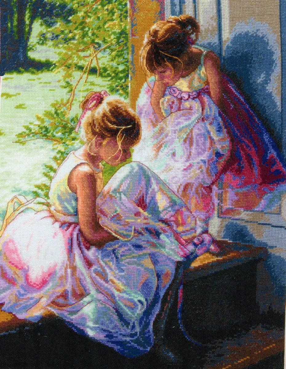 Набор для вышивания Dimensions Мечты балерины, 27 х 35 см149232Красивый и стильный рисунок-вышивка, выполненный на канве, выглядит оригинально и всегда модно. В наборе для вышивания Dimensions есть все необходимое для создания собственного чуда: хлопковое мулине разобранное по цветам, канва, игла и инструкция. Работа, сделанная своими руками, создаст особый уют и атмосферу в доме и долгие годы будет радовать Вас и Ваших близких. А подарок, выполненный собственноручно, станет самым ценным для друзей и знакомых. Элементы оформления в комплект не входят.