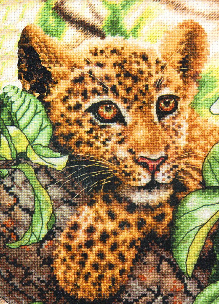 Набор для вышивания Dimensions Молодой леопард, 12 х 17 см149238