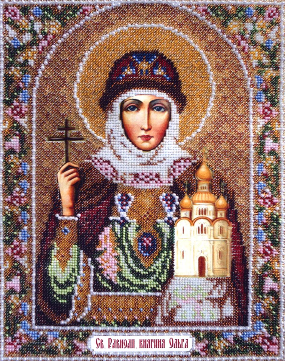 Набор для вышивания бисером Святая Равноапостольная княгиня Ольга, 24 см х 31 см280019