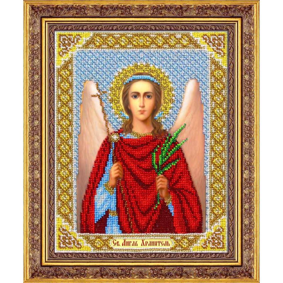 Набор для вышивания бисером Ангел Хранитель, 25 х 20 см280064