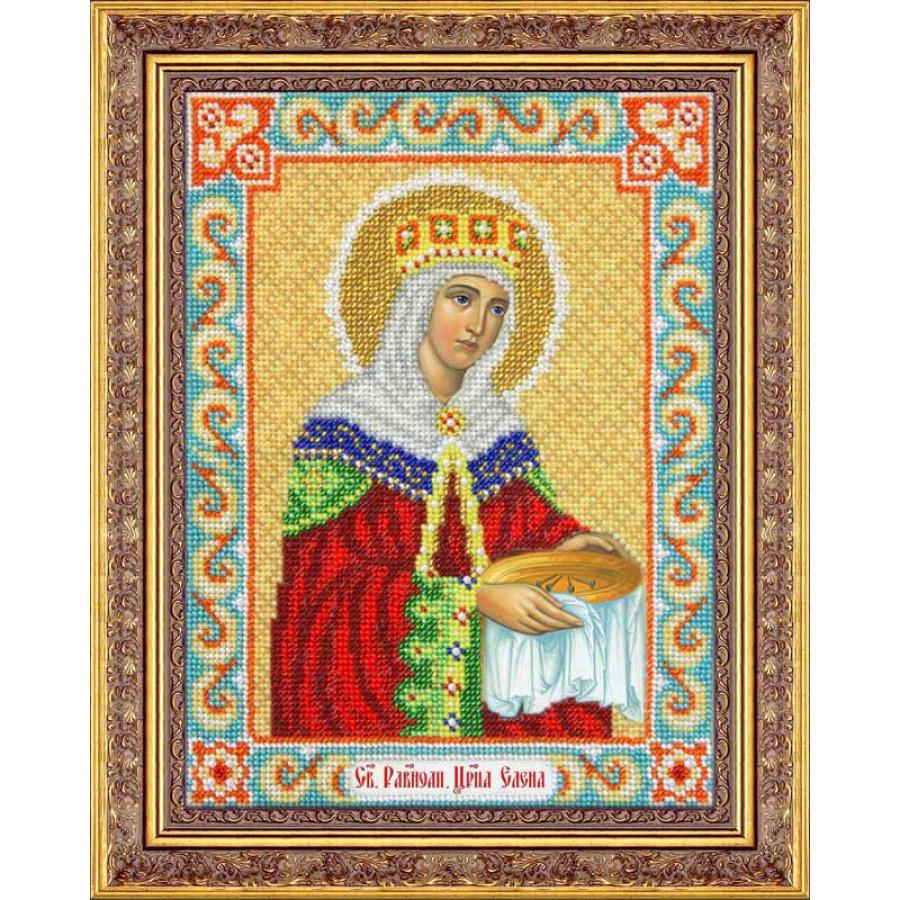 Набор для вышивания бисером Святая Равноапостольная Царица Елена, 25,5 х 19 см280068