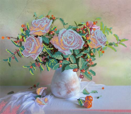 Набор для вышивания бисером Gluriya Не с того поля ягода, 36 х 31 см385026В состав набора входит: Ткань габардин с нанесенным рисунком, бисер Preciosa (Чехия), игла, инструкция.