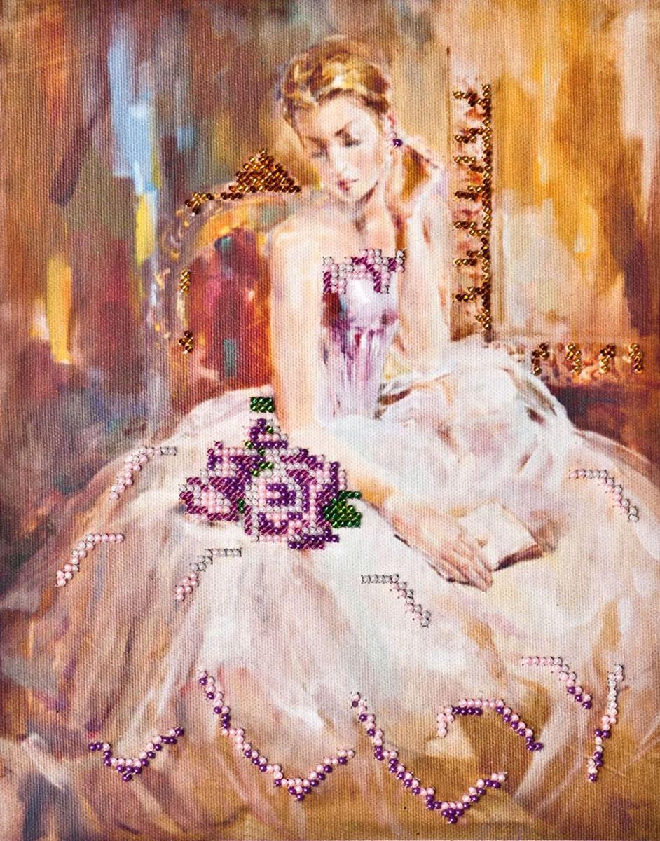 Набор для вышивания бисером Либретто, 22,5 х 28 см АВ-010556014