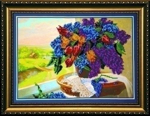Набор для вышивания бисером Ностальгия, 38 х 27,5 см АВ-044556042Набор для вышивания бисером Ностальгия поможет вам создать свой собственный шедевр - красивую вышитую картину. Основа создаваемой картины - натуральный художественный холст аналогичный тому, на котором пишут картины художники. Благодаря ему все элементы, которые творил художник, создавая картину, по мотивам которой разработана схема для вышивки, передаются с максимальной точностью. Сама структура холста делает напечатанную на нем картину отличной репродукцией. Краски, которые используются для нанесения изображения, экосольвентные, а значит, вы можете смело стирать готовое изделие, удаляя с его поверхности загрязнения, а так же покрывать его лаком как при помощи аэрозолей, так и при помощи обычной кисточки! Кроме того со временем краски не потускнеют, не потрескаются - даже при попадании прямых солнечных лучей или влаги, им не страшны перепады температур и прочие неприятности. Благодаря особо прочной структуре холста картина никогда не деформируется под тяжестью бисера. ...