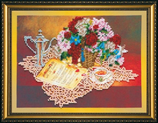 Набор для вышивания бисером Соната, 25 х 19 см АВ-089556072