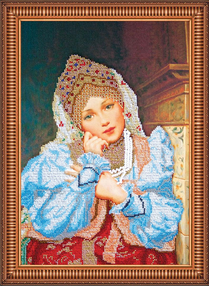 Набор для вышивания бисером Настенька, 30 см х 45 см. АВ-158556109