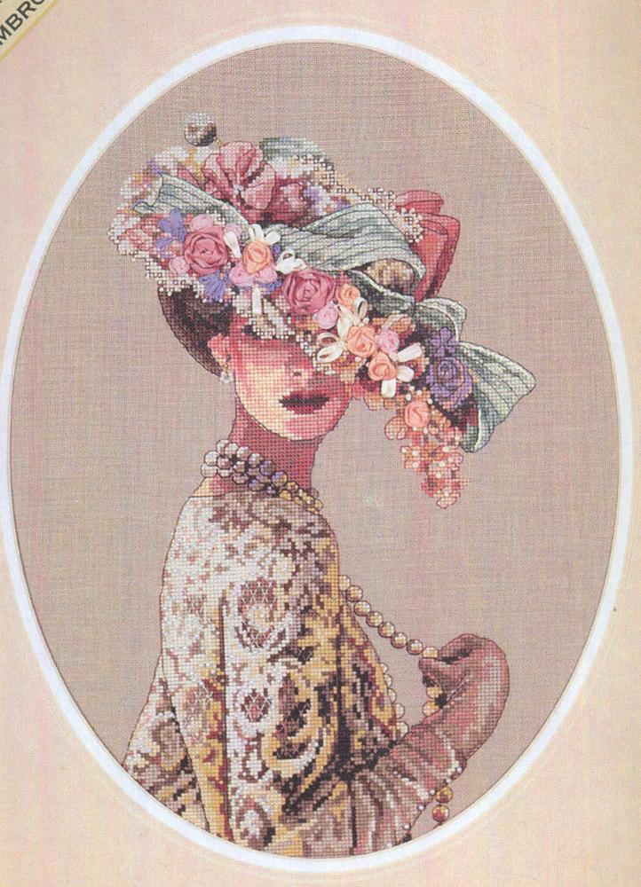 Набор для вышивания Dimensions Викторианская элегантность, 28 см х 38 смDMS-03823