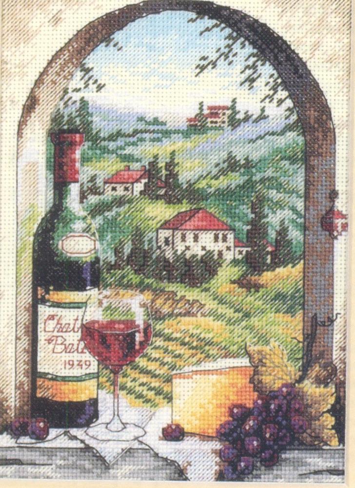 Набор для вышивания Dimensions Мечта о Тоскане, 12 см х 17 см644409