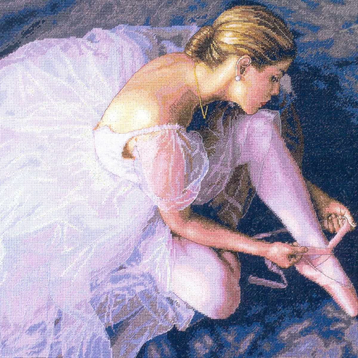 Набор для вышивания Dimensions Прекрасная балерина, 36 х 36 смDMS-35181