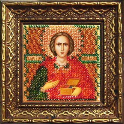 Набор для вышивания бисером Вышивальная мозаика Святой Великомученик и Целитель Пантелеймон, 6,5 см х 6,5 см657017В состав набора входит: - ткань с нанесенным рисунком-схемой (9.5 см х 9,5 см); - чешский бисер (9 цветов); - бисерная игла (2 шт); - цветная схема; - текст молитвы; - акриловая рамка с подставкой, подвесом и магнитами; - клейкая лента-компакт; - инструкция на русском языке. Цвета бисера и цвета на схеме могут не совпадать. Также могут отличаться и цвета в готовой вышивке от цветов на обложке.