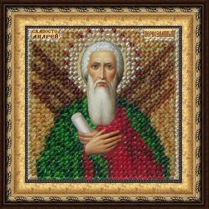 Набор для вышивания бисером Святой Апостол Андрей Первозванный, 6,5 см х 6,5 см657043