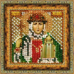 Набор для вышивания бисером Икона Св. Равноап. Княгиня Ольга, 6,5 х 6,5 см679669