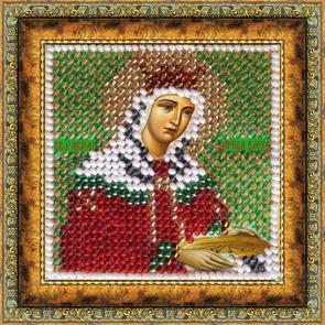 Набор для вышивания бисером Святая Царица Елена, 6,5 см х 6,5 см679670
