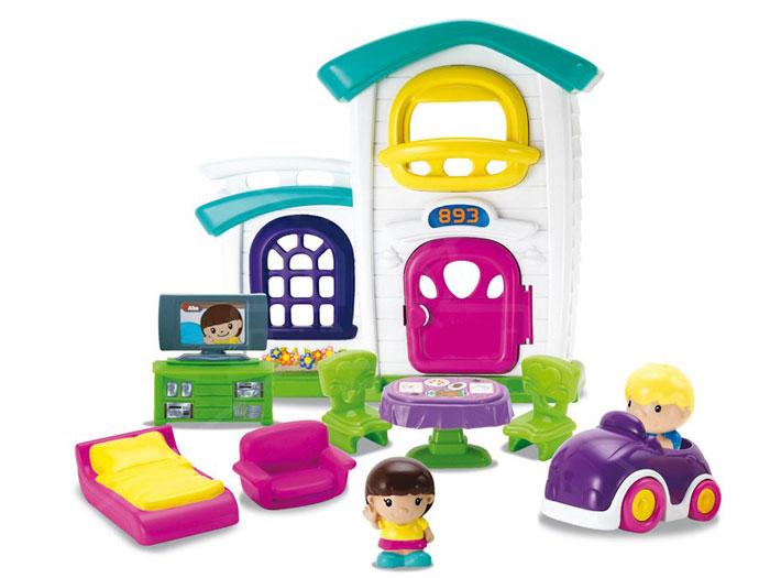 Keenway Игровой набор с мини-куклами Кукольный дом