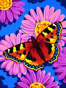 Раскраска по номерам PaintWorks Цветы и бабочки, 23 x 30,5 смDMS-91341С раскраской по номерам Цветы и бабочки каждый сможет стать художником и создать великолепную картину! Нужно лишь аккуратно нанести необходимую краску на отмеченный для нее участок на эскизе картины. Каждая краска имеет свой номер, соответствующий номеру на картине. Некоторые участки требуют смешения цветов, они обозначены буквами. Рекомендуется сначала раскрасить участки одного цвета, прежде чем переходить к окрашиванию другими цветами. Набор содержит качественные акриловые краски, фактурный картон с нанесенным контуром рисунка, кисть, доступную инструкцию. Если Вы предпочитаете работать с кистями разного размера, рекомендуем кисть для деталей № 4, 6 и 8. Если Ваши дети любят рисовать и заниматься изобразительным искусством, то, несомненно, для них станет лучшим подарком этот набор. Дизайн картинок стимулирует творческую активность ребенка, а сама работа доставляет большое удовольствие. Эта раскраска позволяет открыть художника в...