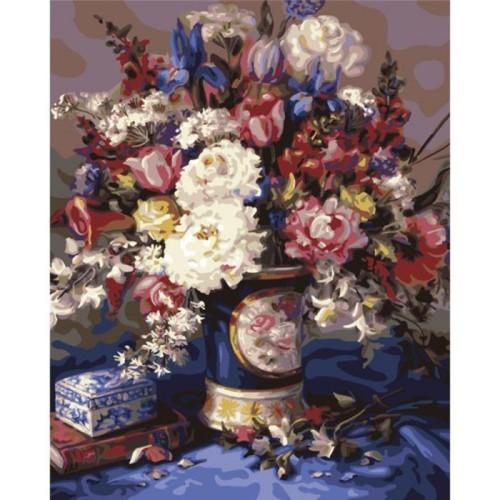 Раскраска по номерам Plaid Мамина итальянская ваза, 41 x 51 смPLD-21761С раскраской по номерам Мамина итальянская ваза каждый сможет стать художником и создать великолепную картину! Нужно лишь аккуратно нанести необходимую краску на отмеченный для нее участок на эскизе картины. Картина нанесена на картонную основу. Каждая краска имеет свой номер, соответствующий номеру на картине. Некоторые участки требуют смешения цветов, они обозначены буквами. Рекомендуется сначала раскрасить участки одного цвета, прежде чем переходить к окрашиванию другими цветами. Если ваши дети любят рисовать и заниматься изобразительным искусством, то, несомненно, для них станет лучшим подарком этот набор. Дизайн картинок стимулирует творческую активность ребенка, а сама работа доставляет большое удовольствие. Эта раскраска позволяет открыть художника в каждом ребенке!