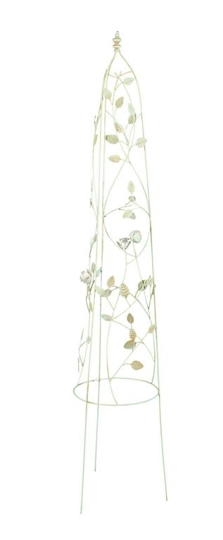 Опора для вьющихся растений Gardman English Rose, 160 cм х 30 см00320Опора Gardman English Rose используется для декоративного оформления сада, украшает сад и придает разнообразие его облику, расставляя вертикальные акценты. Оформлена металлическими листьями. Опора легко устанавливается в землю благодаря 3 тонким ножкам.