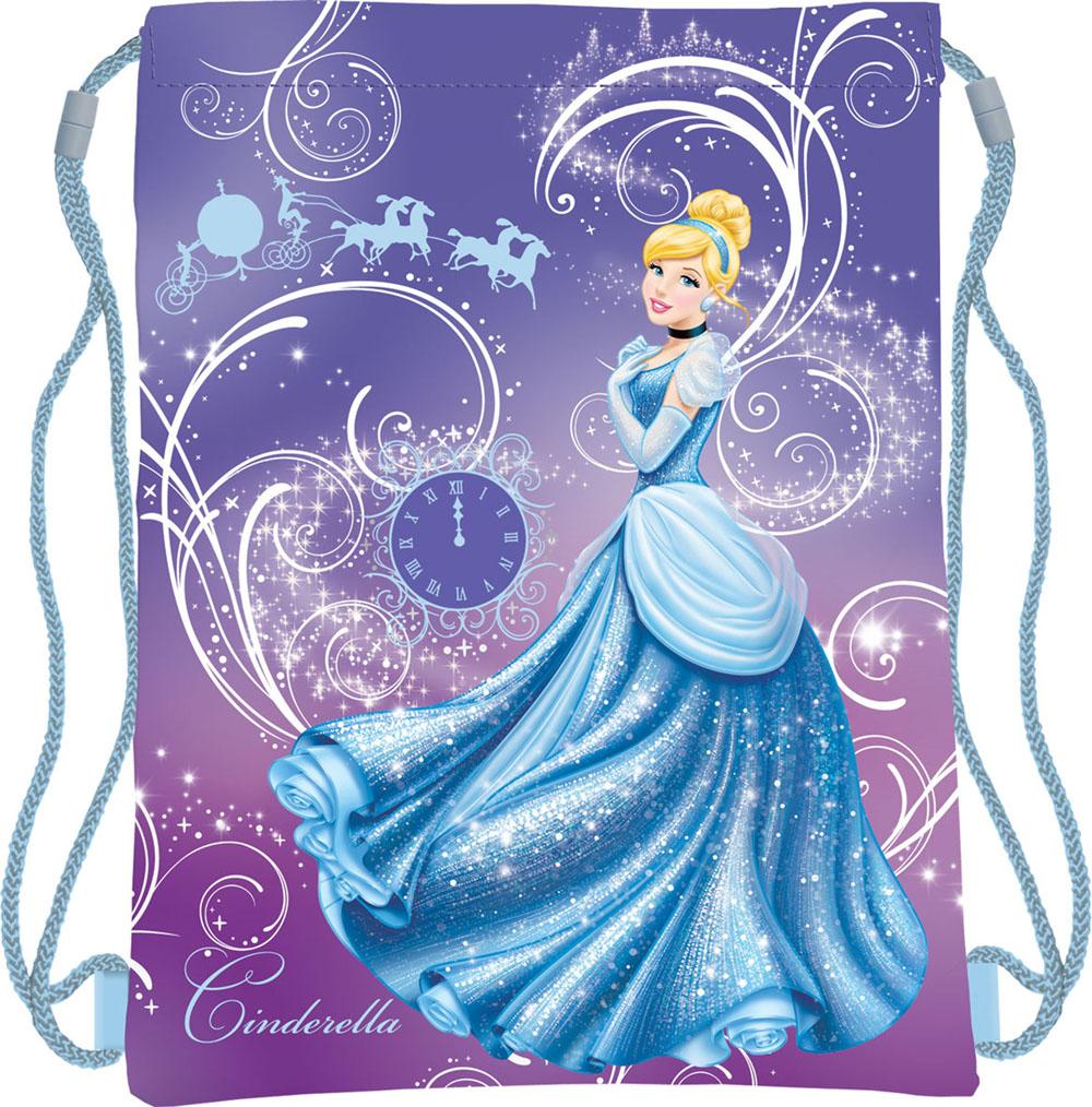 Disney Princess Сумка для сменной обуви Princess Золушка цвет фиолетовый