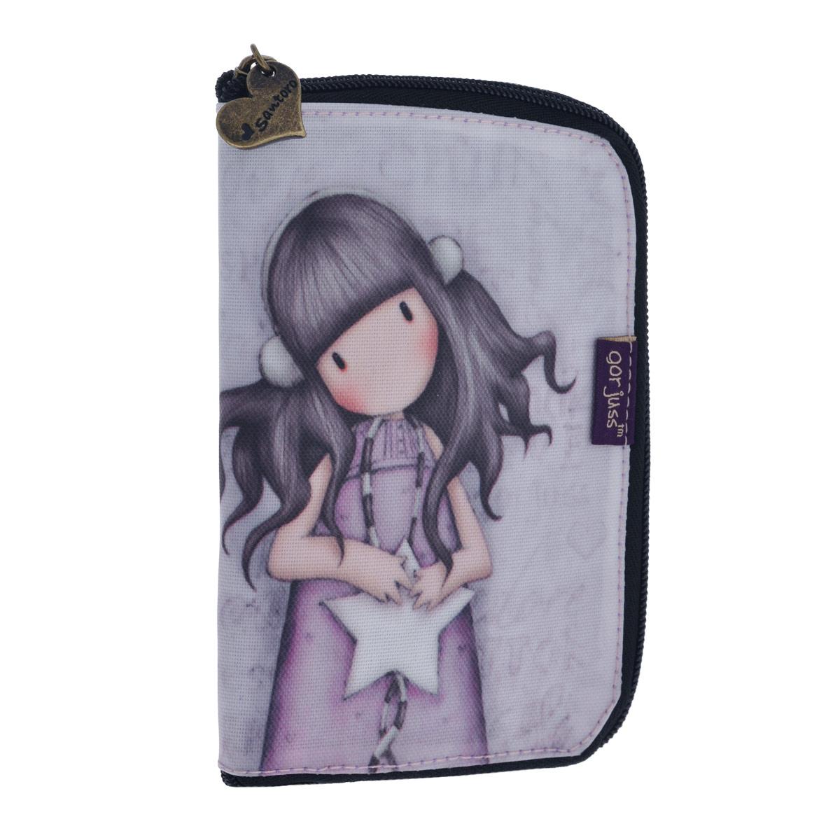 Складывающаяся сумка для покупок All These Words, цвет: сиреневый. 00122110012211Складывающаяся сумка для покупок с милой девочкой непременно порадует вас или станет прекрасным подарком. Сумка складывается в симпатичный чехольчик на молнии, сама сумка выполнена из текстиля сиреневого цвета с орнаментом и имеет две удобные ручки. Сумка очень удобна в использовании - ее легко раскладывать и складывать. Характеристики: Материалы: текстиль, ПВХ, металл. Размер чехла на молнии: 10,5 см x 16 см x 1,5 см. Размер сумки в разложенном виде: 54 см х 35 см х 17 см.