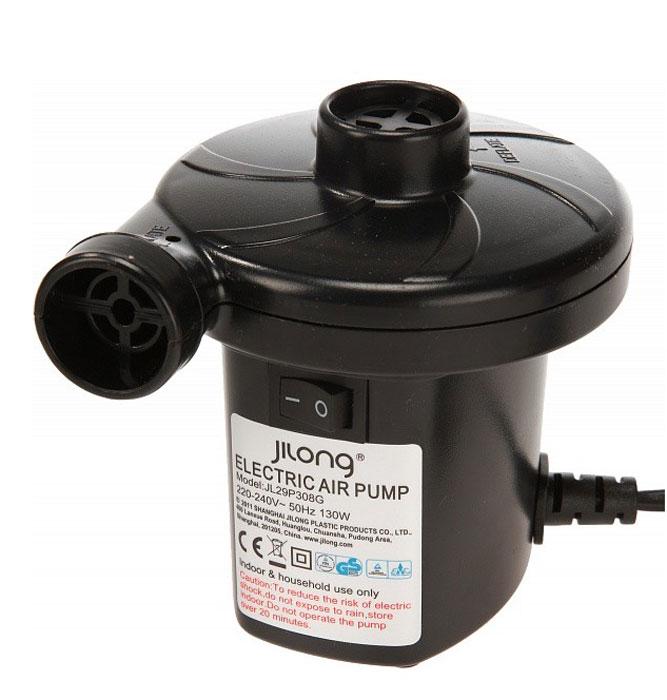 Насос электрический Jilong AC Electric, 220BJL29P308GНасос электрический Jilong AC Electric станет незаменимым в путешествиях или отдыхе на природе. - Напряжение 220В. - 3 дополнительные насадки различной конфигурации.