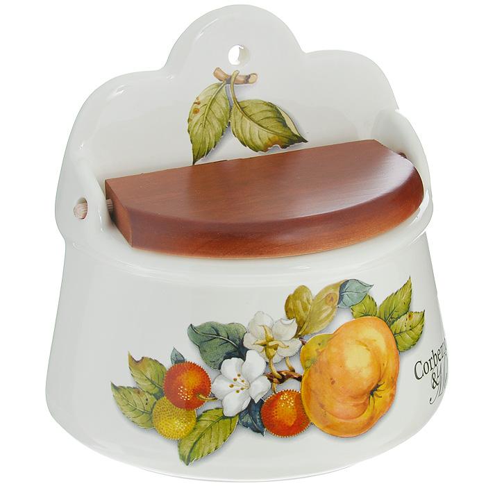 Банка для соли настенная Nuova Cer Итальянские фрукты, 1,2 л