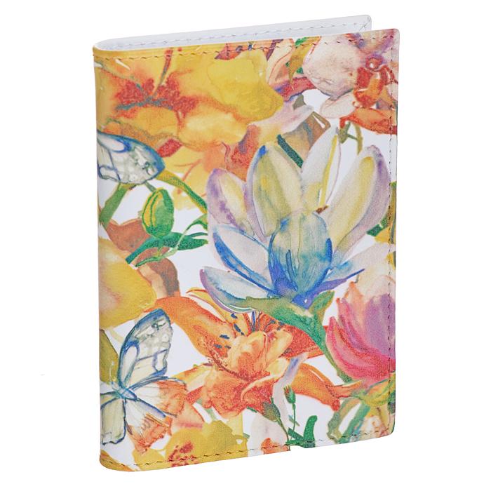 Визитница вертикальная Perfecto Цветы и бабочки. VZ-PT-18VZ-PT-18Вертикальная визитница Perfecto Цветы и бабочки - это стильная и функциональная вещь для хранения визиток. Обложка выполнена из натуральной кожи с изящным цветочным узором. Внутри содержится съемный блок из прозрачного пластика, рассчитанный на 18 визиток или пластиковых карт. Файлы односторонние. Такая визитница станет замечательным подарком человеку, ценящему качественные и практичные вещи.