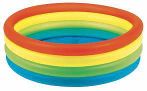 Бассейн надувной Jilong Neon, 150 х 40 смJL010195NPFКруглый надувной бассейн Jilong Neon идеально подойдет для детского и семейного отдыха на загородном участке. Бассейн изготовлен из прочного ПВХ. Бассейн состоит из 4 неоновых колец одинакового размера. Комфортный дизайн бассейна и приятная цветовая гамма сделают его не только незаменимым атрибутом летнего отдыха, но и оригинальным дополнением ландшафтного дизайна участка. В комплект с бассейном входит заплатка для ремонта в случае прокола.