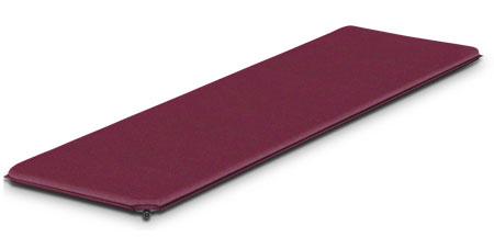 Коврик самонадувающийся Alexika Trekking 60, цвет: бордовый. 9333.38089333.3808