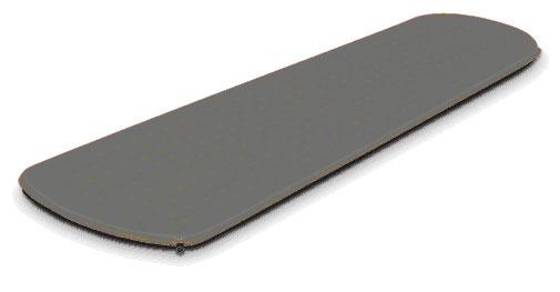 "Коврик самонадувающийся Alexika ""Expert"", цвет: серый. 9301.2512"