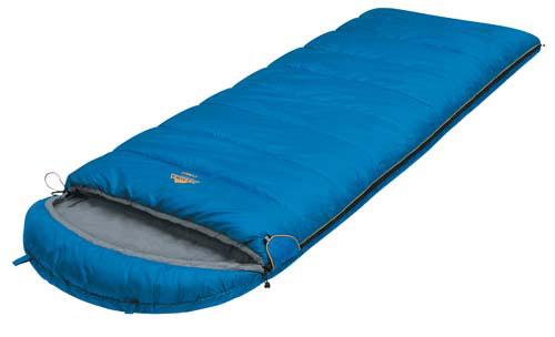 Спальный мешок-одеяло Alexika Comet, цвет: синий, правосторонняя молния. 9261.010519261.01051Качественное исполнение и доступная цена - вот то, что выгодно выделяет эту модель спальника Alexika Comet среди подобных. Основная особенность спальника с подголовником Comet - небольшой вес, что весьма актуально для тех, кто не любит носить лишние тяжести. Наполнитель спального мешка изготавливается из легкого синтетического материала, теплоизоляционные свойства которого приближаются к характеристикам пуховых одеял. Кроме того, утеплитель в Alexika Comet сформирован так, что холодный воздух не может проникнуть через швы. Треугольный клапан мешка оснащен светоотражающим ярлыком и круглой липучкой. Спальник-одеяло Alexika Comet обеспечит комфортный ночной отдых. Каждая деталь в нем тщательно продумана разработчиками. Так, вы никогда не столкнетесь с тем, что молния спальника плохо застегивается - производители используют лишь качественную проверенную фурнитуру. При необходимости вы сможете соединить вместе несколько мешков - у модели предусмотрена...