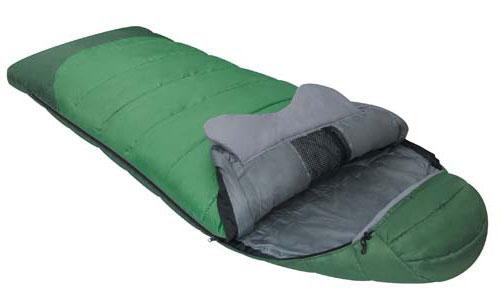 Спальный мешок Alexika Forest, цвет: зеленый, левосторонняя молния. 9230.010129230.01012Комфортабельный трехсезонный трекинговый спальный мешок Alexika Forester будет идеален для тех, кто любит путешествовать. Прочный и надежный, он обеспечит вам крепкий здоровый сон и комфорт, словно вы и не выходили из собственной спальни. Комфорт сохранится даже при температуре -4°C: это достигается благодаря специальному утеплителю APF-Isoterm 3D, который не пропускает холодный воздух внутрь, т.к. помещен в специальные пакеты, смещенные относительно друг друга. Тепловой воротник плотно облегает шею, и препятствует прохождению холодного воздуха извне, сохраняя тепло внутри. Молния плотно утеплена, а значит, там нет щелей, через которые может проходить ветер. Капюшон анатомической формы удобен для головы и также сохранит тепло. Светящаяся петля на молнии позволит вам с легкостью найти бегунок в ночное время, а внутренние сетчатые карманы припрятать в мешке небольшие вещички, например документы и т.п. Данный туристический спальник легко поддается...