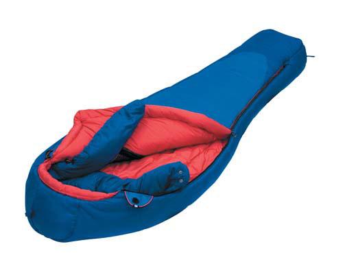 Спальный мешок Alexika Glacier, цвет: синий, правосторонняя молния. 9205.040519205.04051
