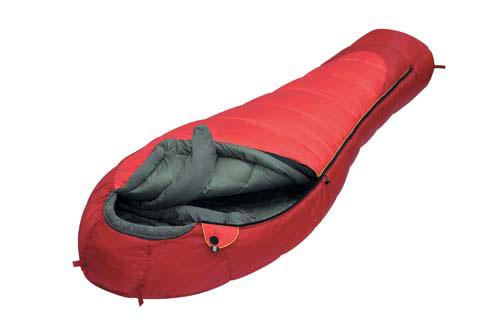 Спальный мешок Alexika Iceland, цвет: красный, правосторонняя молния. 9228.010619228.01061Спальник Alexika Iceland представляет собой самую недорогую модель спального мешка на рынке среди зимних спальников. Благодаря хорошим свойствам утеплителя APF-Isoterm 3D вы можете спать спокойно, в тепле и комфорте даже при низких температурах. Сам мешок довольно просторный, и в случае, если вы используете его при температурах более низких (температура экстрима -32°С), вы можете надеть на себя дополнительную одежду. Внутренняя ткань капюшона - Soft Micro Polyester Diamond RipStop H2O, прекрасно защищает от влаги и ветра, но в то же время позволяет вентилировать воздух, не заставляя вас мучиться от духоты. Подобно всем моделям спальников от Alexika, данная модель также снабжена лентой, предохраняющей попадание ткани в молнию при застегивании, отделение в капюшоне для подушки или какой-либо другой вещи для подкладки под голову, теплый воротник, полностью обхватывающий шею на 360 градусов. Еще приятными мелочами являются наличие внутри спальника сетчатого...