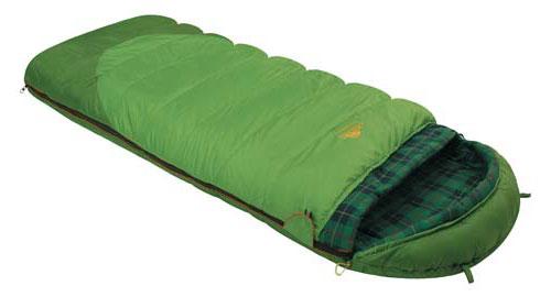 Спальный мешок-одеяло Alexika Siberia Plus, цвет: зеленый, левосторонняя молния. 9252.010129252.01012Спальник-одеяло Alexika Siberia Plus предназначен для активных туристов, получающих удовольствие от путешествий с палатками и ночевок в кемпингах. Он рассчитан на использование в летнее время, а также в мае и сентябре - относительно теплых месяцах, когда еще не случается сильных ночных заморозков. Комфортный спальник одеяло Siberia Plus оснащен удобным подголовником, который поддерживает шею спящего во время ночного отдыха. Размер мешка позволяет отлично использовать данную модель даже туристам, отличающимся высоким ростом. Инновационный утеплитель APF-Isoterm 3D не скатывается, а распределяется равномерным слоем по всей поверхности спальника-одеяла. Спальник с подголовником можно моментально трансформировать в теплое одеяло. Для этого достаточно расстегнуть надежный замок-молнию. Отличительная особенность модели Siberia Plus - зеленая внешняя поверхностная ткань, которая практически не пропускает влагу и холод. Внутренняя поверхность оформлена мягкой...