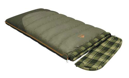 Спальный мешок-одеяло Alexika Siberia Wide Transformer, цвет: оливковый, левосторонняя молния. 9255.010729255.01072