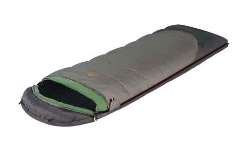 Спальный мешок-одеяло Alexika Summer Plus, цвет: серый, правосторонняя молния. 9258.010719258.01071Summer Plus - это идеальный спальный мешок-одеяло с синтетическим наполнителем для отдыха на природе в летнее время года. Любители путешествий и кемпинга по достоинству оценят все преимущества этого мешка, среди которых небольшой вес, быстрое время высыхания и легкое восстановление формы. Спальный мешок Summer Plus изготовлен в классическом стиле и представляет собой спальник-одеяло плюс подголовник. В подголовнике с легкостью можно разместить подушку или свои вещи. Для этого в нем имеются два входа. Специальный утеплитель APF-Isoterm защищает вас от проникновения холодного воздуха, поэтому в спальнике всегда сохраняется оптимальная температура. Специальная лента вдоль молнии не дает ей застопориться, даже если вы многократно застегиваете-расстегиваете мешок. Сетчатый внутренний карман спальника служит дополнительным отделением, где можно хранить часто необходимые вещи. На замке расположена люминесцентная петля для удобства использования в темное время суток....
