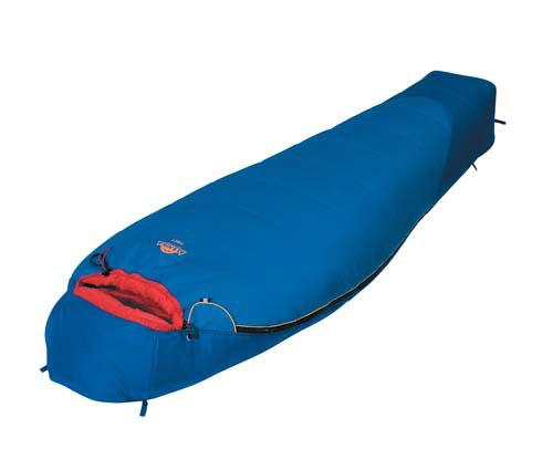 Спальный мешок Alexika Tibet, цвет: синий, правосторонняя молния. 9203.030519203.03051
