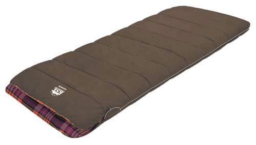 Спальный мешок KSL Safari, цвет: коричневый, правосторонняя молния. 6255.01146255.0114