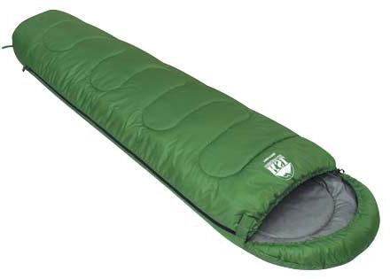 Спальный мешок KSL Trekking, цвет: зеленый, левосторонняя молния. 6221.010126221.01012