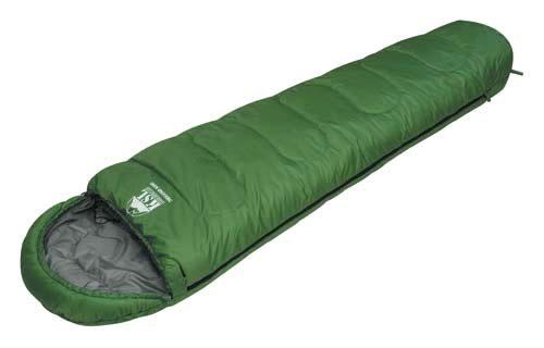 Спальный мешок KSL Trekking Nord, цвет: зеленый, правосторонняя молния. 6222.010116222.01011