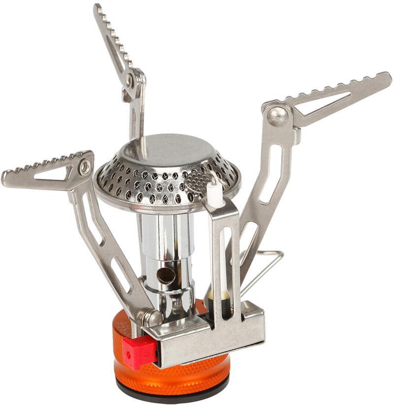 Газовая горелка Fire-Maple, c пьезоэлементом. FMS-102FMS-102Классическая газовая портативная горелка FMS-102. В этой портативной горелке применено новое технологическое решение, которое позволяет ставить на горелку емкости от малого до большого размера, благодаря универсальным лапкам-держателям имеющим 2 режима раскладывания. Объемная высокая конфорка обеспечивает сильное стабильное пламя и увеличивает мощность. Компактная складная горелка сделана из нержавеющей стали и сплава алюминия. Газовая портативная горелка FMS-102 снабжена ниппелем, особой системой предотвращения потери топлива при каждом подсоединении и отсоединении сменного картриджа. Это позволяет в разы снизить расход жизненно необходимого топлива в путешествии. Дополнительно имеется пьезоэлектрический поджиг, что позволяет мгновенно зажечь пламя. Эта модель отлично подходит для использования с резьбовыми сменными картриджами любых типов. Возможно подсоединение к цанговому баллону при помощи адаптера FMS-701. 1 литр воды закипает за 3 минуты 25...