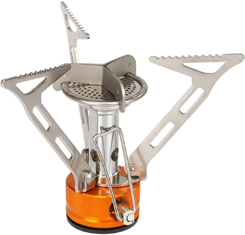 Газовая горелка Fire-Maple, с ветрозащитой. FMS-103FMS-103Портативная газовая горелка FMS-103 - одна из самых легких и мощных горелок в модельном ряду. Одной из особенностей является высокий и в то же время узкий факел пламени, который позволяет достичь наивысшего КПД при данной конструкции. Минималистичный дизайн и простота использования в сочетании с встроенным ветрозащитным экраном позволяют готовить даже в сильный ветер. Лапки-держатели для котелка складываются так, чтобы занять как можно меньше места. Газовая портативная горелка FMS-103 снабжена ниппелем, особой системой предотвращения потери топлива при каждом подсоединении и отсоединении сменного картриджа. Это позволяет в разы снизить расход жизненно необходимого топлива в путешествии. Эта модель отлично подходит для использования с резьбовыми сменными картриджами любых типов. Возможно подсоединение к цанговому баллону при помощи адаптера FMS-701. 1 литр воды закипает за 3 минуты 30 секунд. При условиях: (ГОСТ 2939-63) Атмосферное давление 760 мм рт. ст., ...